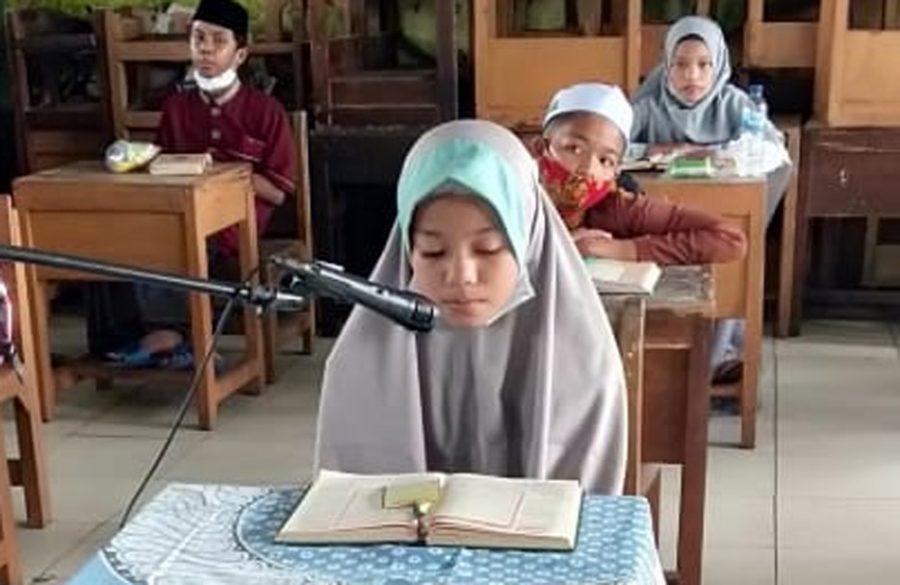 42 Pelajar Tingkat SD Ikuti Pentas Pendidikan Agama Islam Korwil Kecamatan Pinang