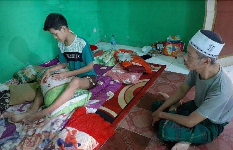 Seorang Pemuda Dibacok Saat Keliling Bangunkan Sahur di Cipare