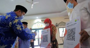 Bersedekah, Infaq dan Zakat Secara Online, Arief bersama BJB dan Baznas Launching QRIS