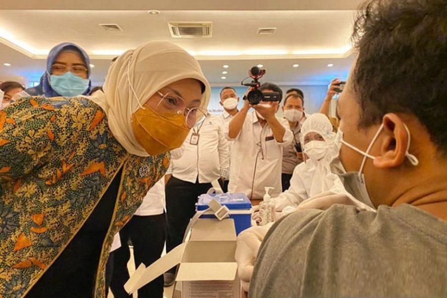 13.678.323 Jiwa Penduduk Indonesia Telah Divaksinasi Covid-19 Tahap I