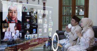 Walikota Arief Lakukan Silaturahmi Idul Fitri Secara Virtual