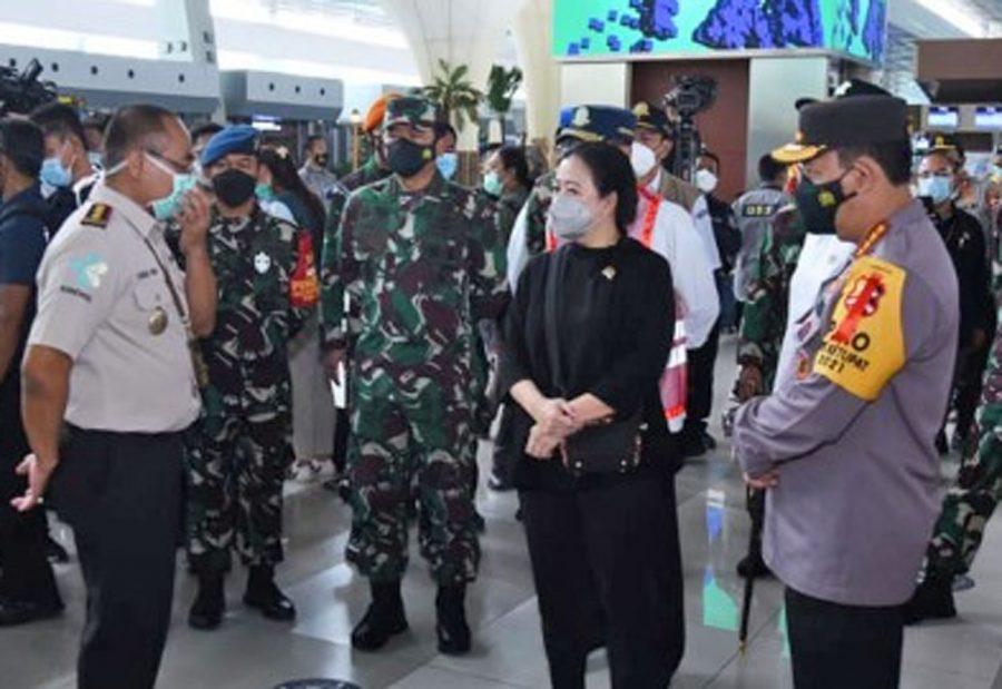 Puan Maharani: Jangan Sampai Kecolongan Penularan Covid-19 Dari Bandara Soetta