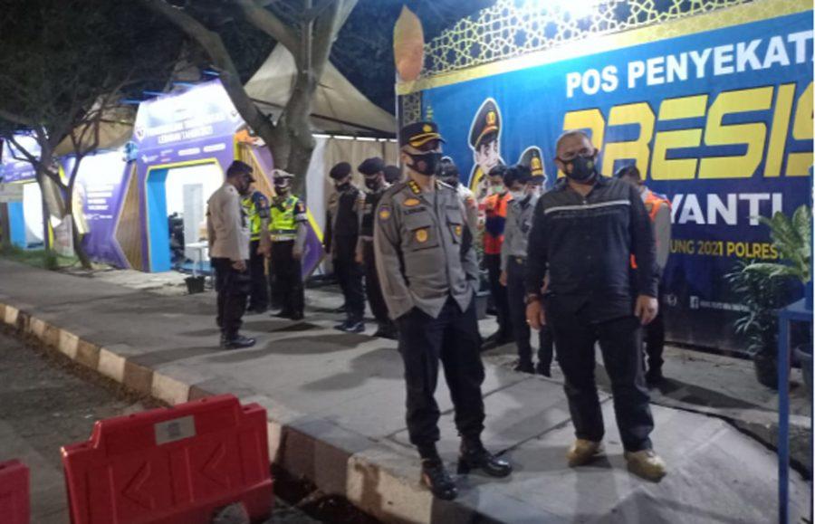 Pastikan Arus Lalu Lintas Lancar, Pamatwil Tangerang Kunjungi Pos Pam