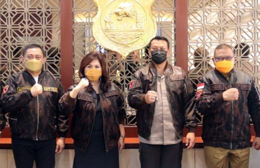 Kapolda Banten Terima Kunjungan Keluarga Besar Putra Putri Polri