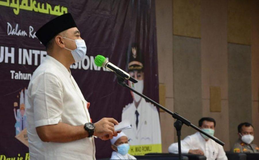 Jelang May Day, Bupati Tangerang Gelar Tasyakuran Bersama Buruh