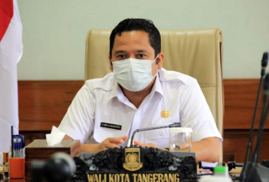 Rakor Provinsi Banten, Walikota Arief Usulkan Vaksinasi Bagi Pelaku UMKM