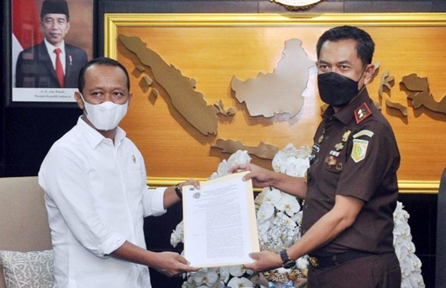 Bahlil Lahadalia Apresiasi Kinerja Kejati Banten