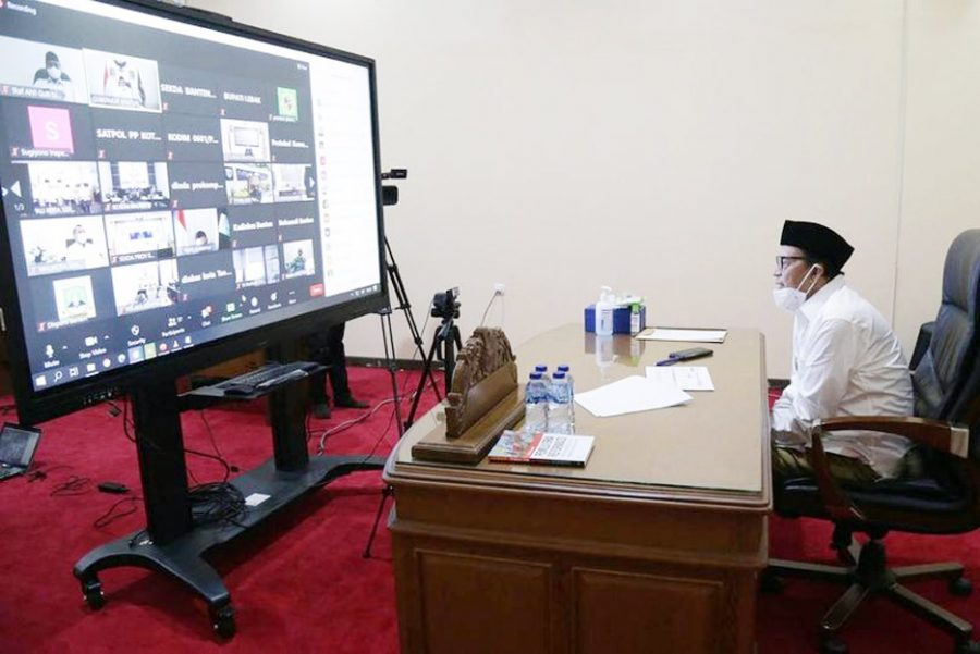 Penangan Covid-19 Provinsi Banten Semakin Bailk
