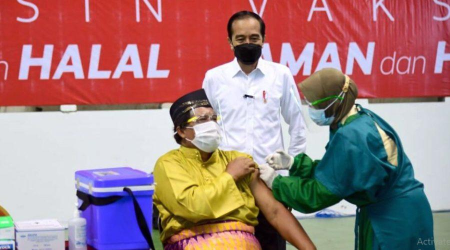 14.815.666 Jiwa Penduduk Indonesia Telah Menjalani Vaksinasi Dosis Pertama