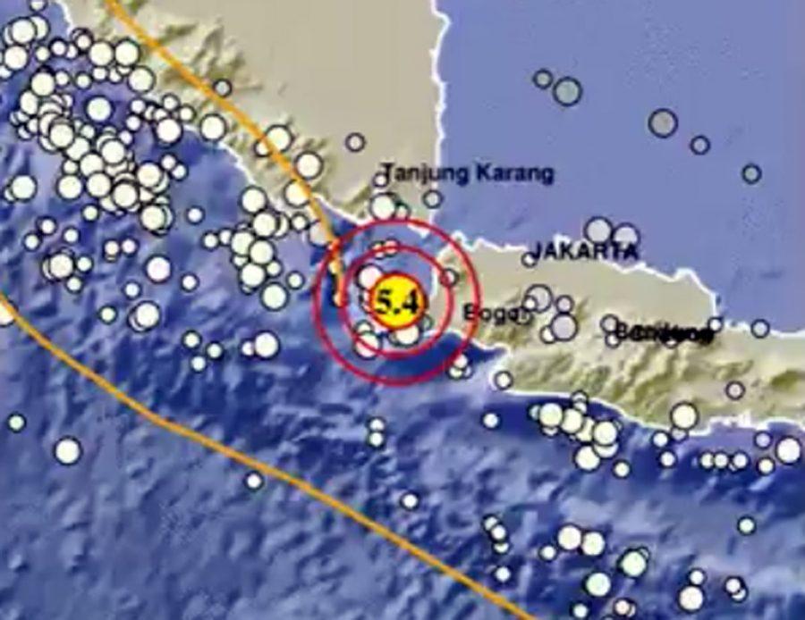 Pandeglang Diguncang 2 Kali Gempa Selang 2 Menit, Tak Berpotensi Tsunami