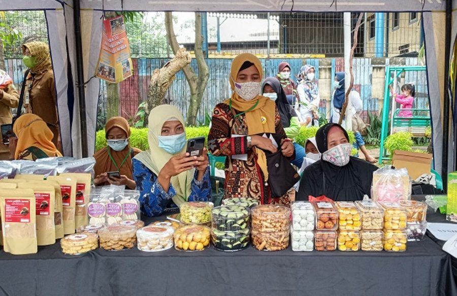 UMKM Karawaci Gelar 'Bazar Ramadan Exis Ceria' Jelang Idul Fitri
