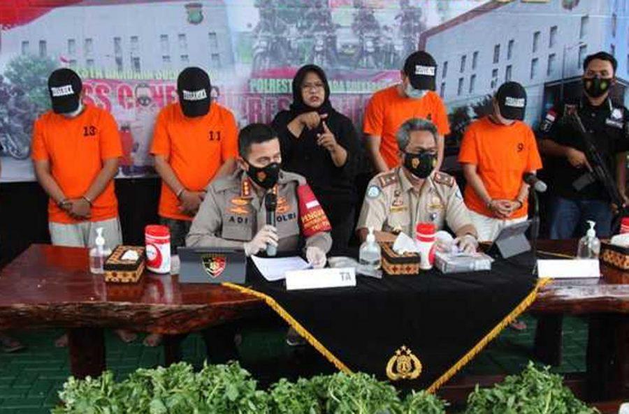 Polresta Bandara Soetta Meringkus Empat Pelaku Penyelundup Benih Lobster