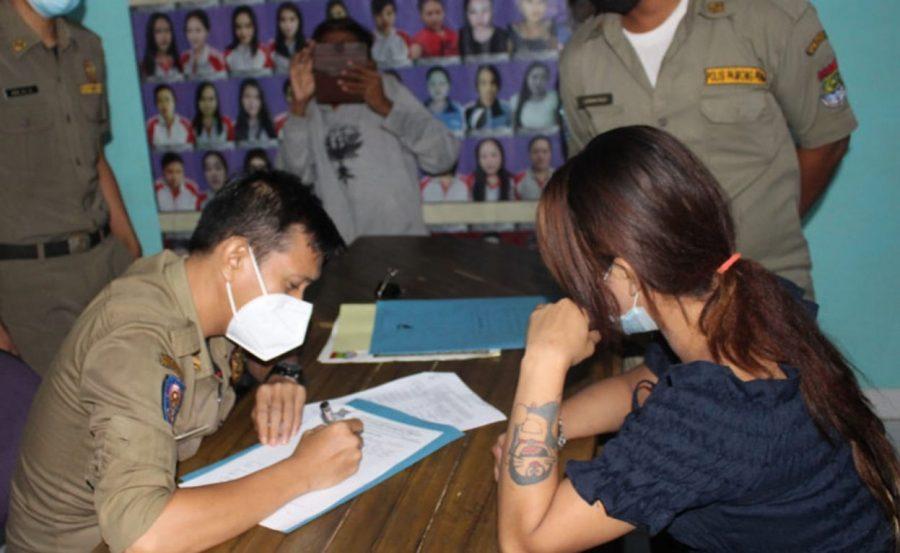 12 PSK di Amankan, Satpol PP Pemkab Tangerang Gelar Razia Tempat Hiburan Malam,