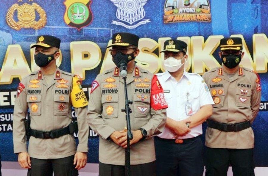 Polri Sebar Ribuan Personel Kawal Peniadaan Mudik Lebaran 2021