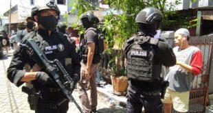 Operasi Densus 88 Telah Menangkap Terduga Teroris di Makassar Sebanyak 56 Orang