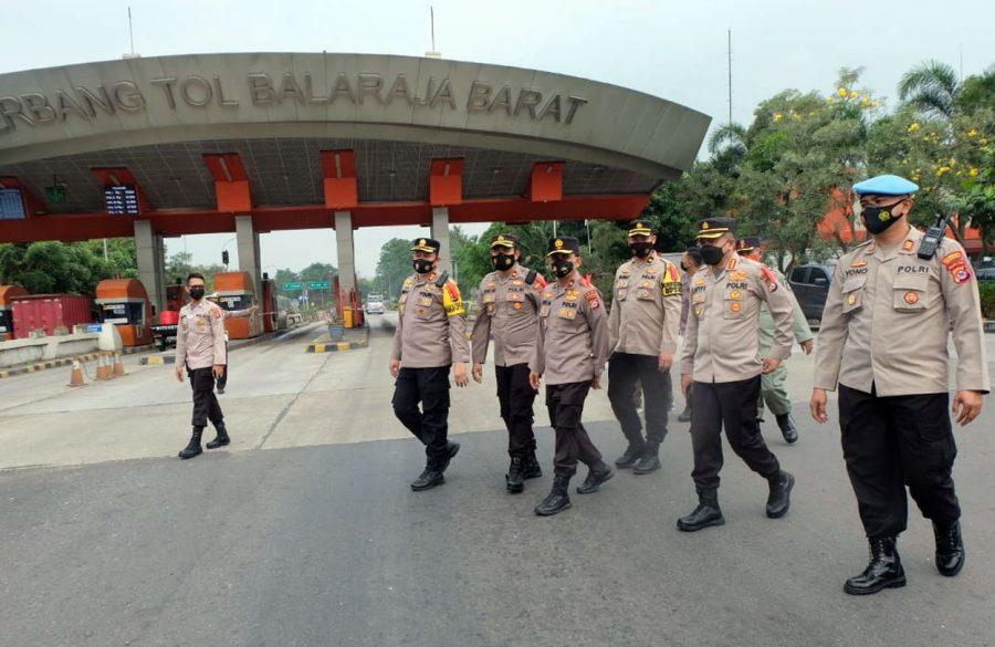 Wakapolda Banten Pastikan Kesiapan Personel di Pos Pam Mudik Lebaran
