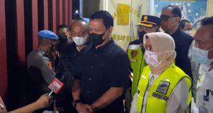 Kapolda Polda Banten Cek Pemberlakuan Peniadaan Mudik Di Pelabuhan Merak