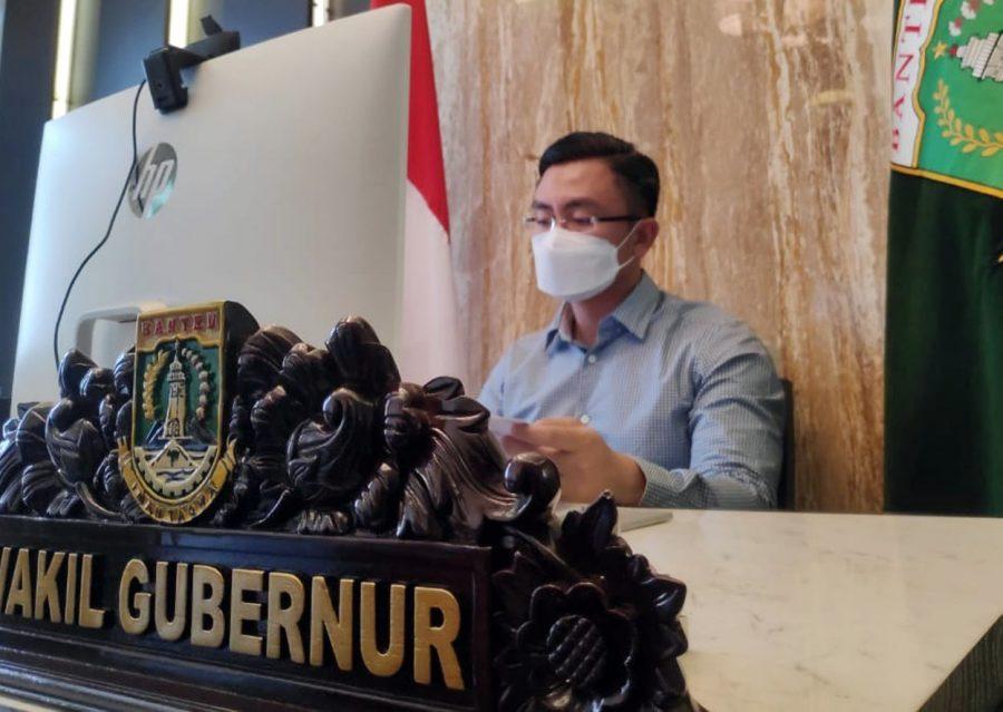 Pemprov Banten Laporkan Pelaksanakan Penyekatan Mudik dan Perpanjang Lagi PPKM Mikro