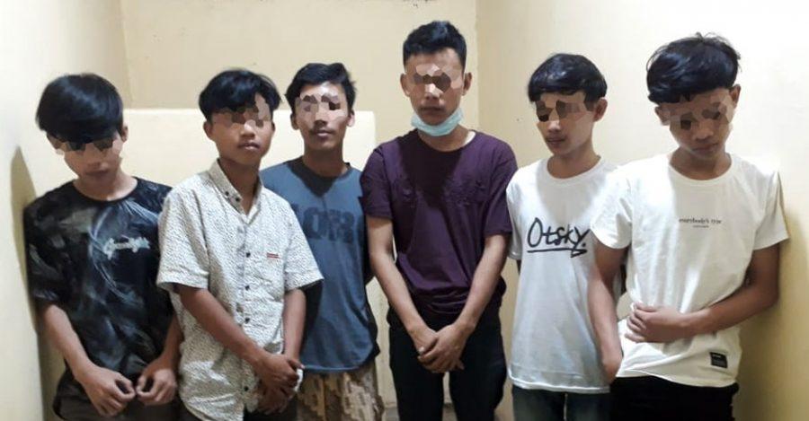 Polres Pandeglang Amankan 6 Pelaku Pengeroyokan di Kampung Masjid