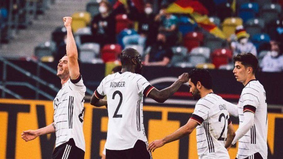 Persiapan JelangEuro 2020, Jerman Tumbangkan Latvia Skor 7-1
