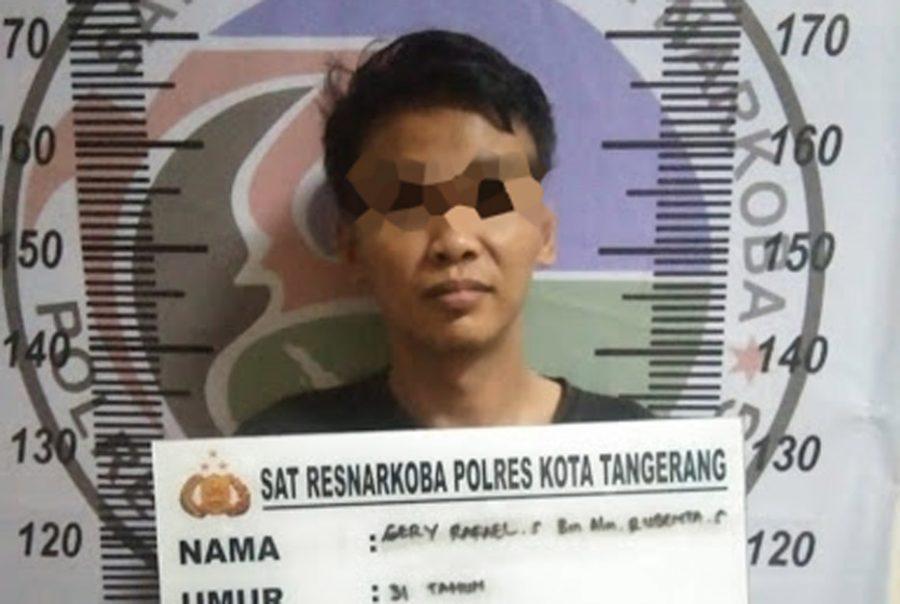 Polisi Tangkap Pengedar Narkoba di Cikande Dengan Barang Bukti 66,97 Gram Sabu