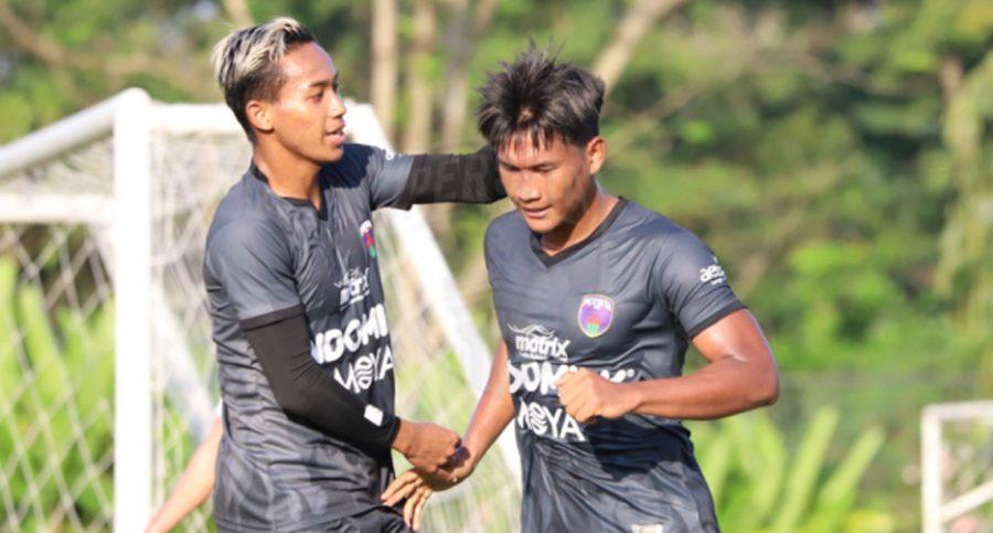 Tanding Persahabatan Persita Melawan Borneo FC Berakhir Imbang 1-1