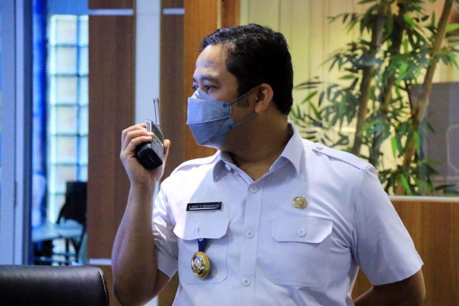 Pemkot Tangerang Launching Sistem Integrasi HT Analog Dengan Smartphone