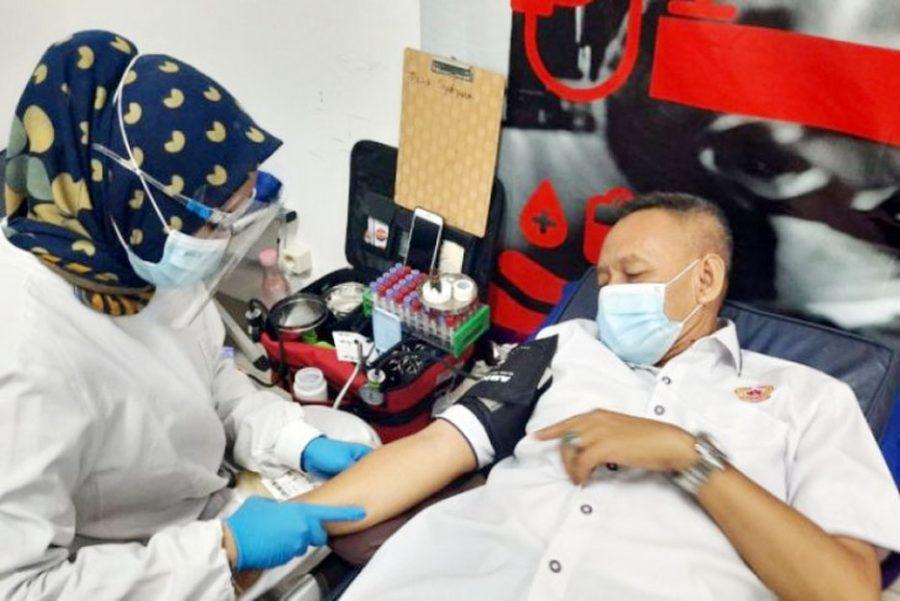 Penuhi Stok Kebutuhan, PMI Kabupaten Tangerang Gelar Gebyar Donor Darah