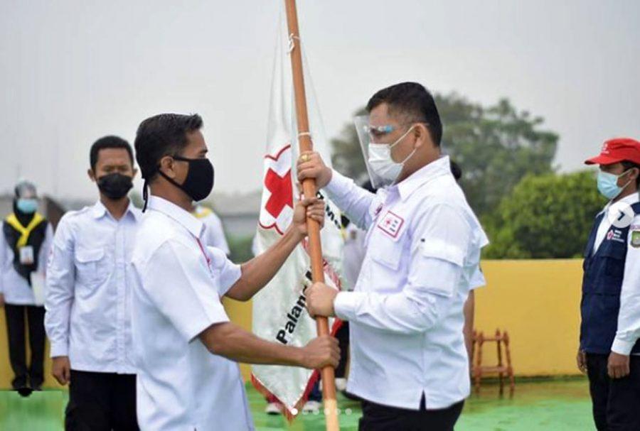 PMI Kota Tangerang Melantik 288 Anggota PMR Dan TSR