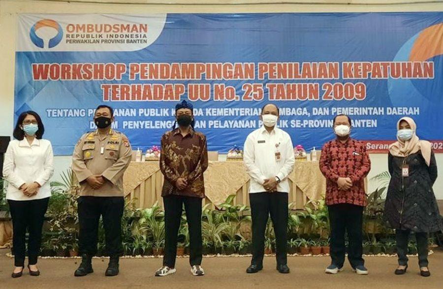 Demi Kemudahan Masyarakat, Pemprov Banten Terus Dorong Peningkatan Pelayanan Publik