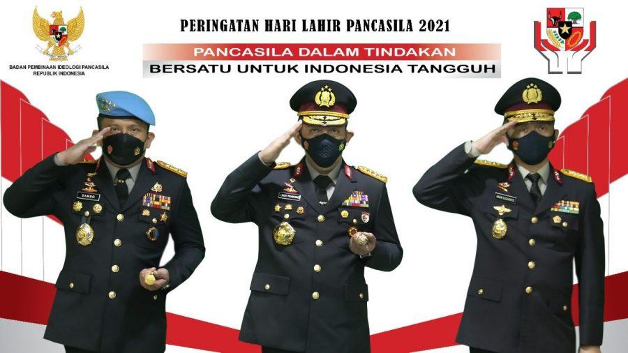 Refleksi Hari Lahir Pancasila, Kapolri Ajak Masyarakat Bersatu untuk Indonesia Tangguh