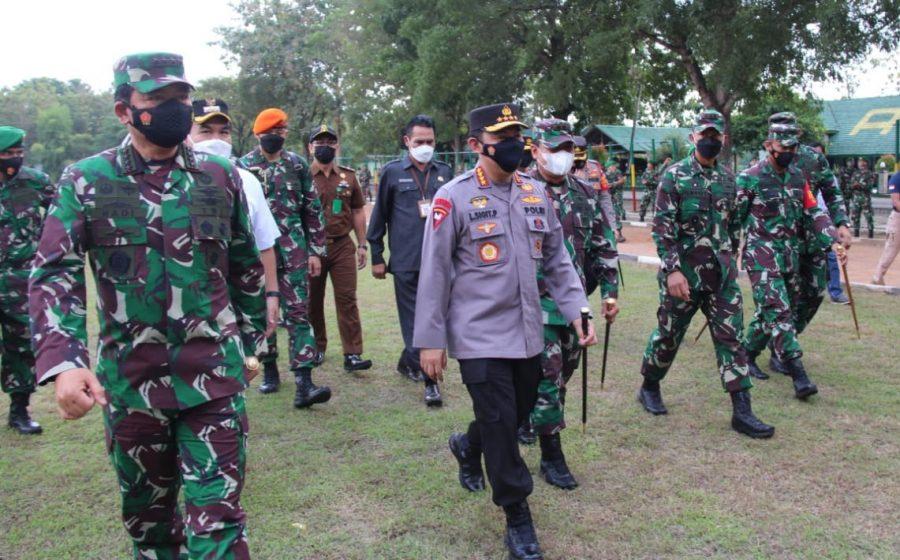 Panglima TNI dan Kapolri Ingatkan Forkompimda Waspadai Lonjakan Kasus Covid-19