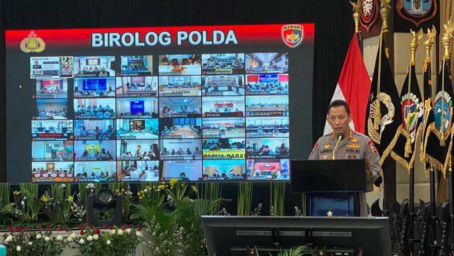 Kapolri Minta Dukungan Logistik 'All Out' Untuk Bencana