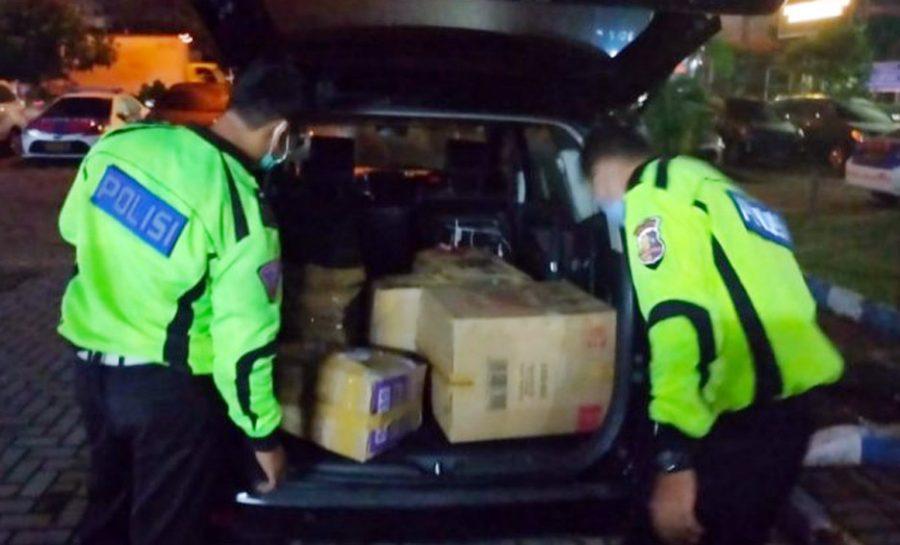 Polisi Tangkap 2 Pelaku Penyelundup 30 Ribu Benur di Jalur Tol Tangerang-Merak