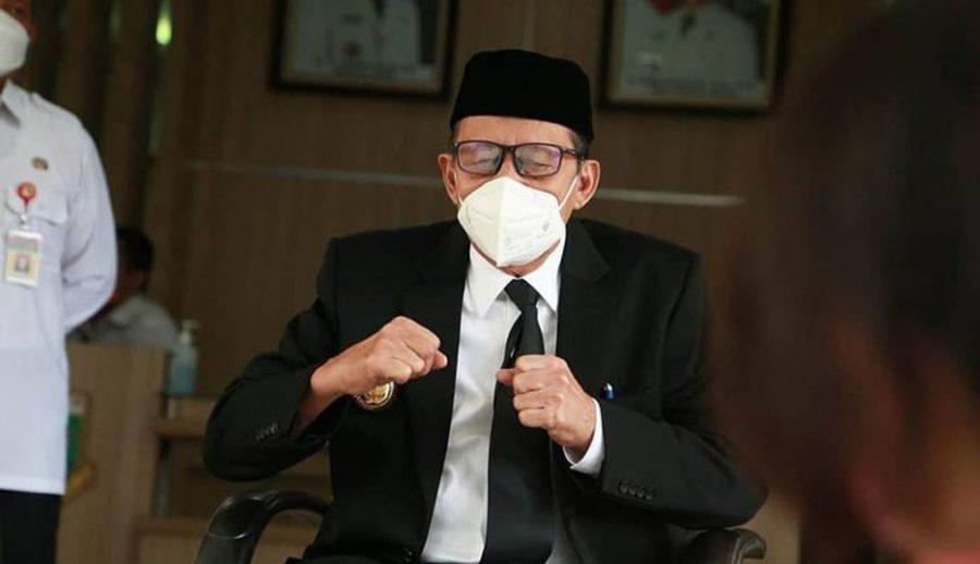 Banten Zona Oranye, Wahidin Halim Himbau Masyarakat Disiplin Protokol Kesehatan