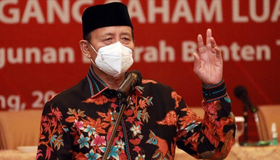 Gubernur Banten Perpanjang WFH dan Melarang ASN Pergi Keluar Daerah