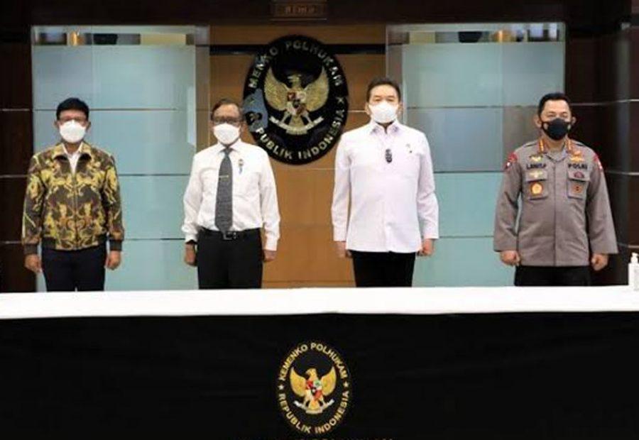 Kapolri, Jaksa Agung & Menkominfo Tandatangani SKB Pedoman Implementasi UU ITE