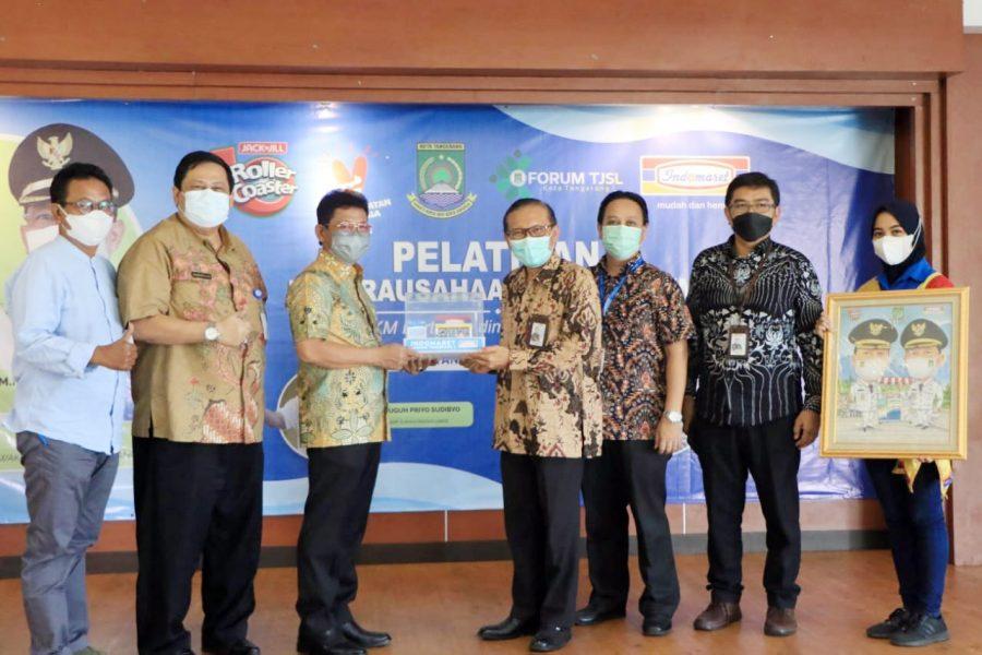 Pemkot Tangerang Gandeng Indomaret dan Forum TJSL Berikan Pelatihan IKM