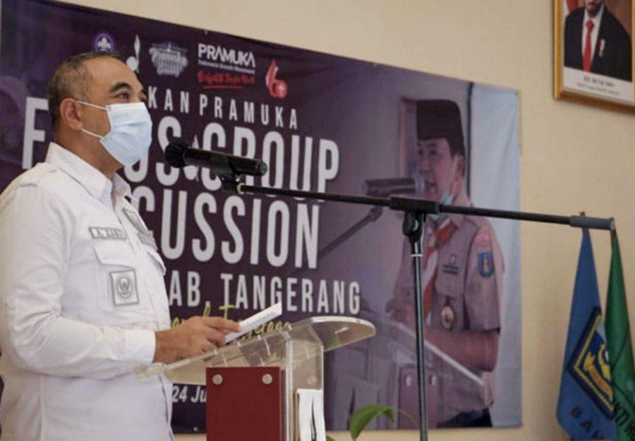 Bupati Zaki Buka 'Forum Group Discussion' Kwarcab Kabupaten Tangerang