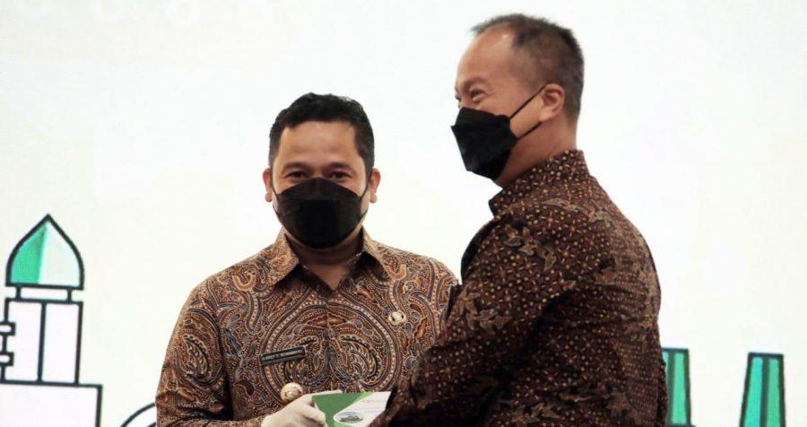 Arief Jadi Wakil Daerah se-Indonesia Dalam Launching Penghargaan Industri Hijau 2021
