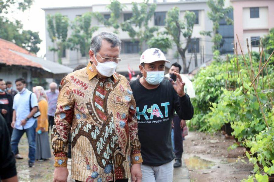 Hadiri Silahturahmi, Wali Kota Tangsel Apresiasi Semangat Komunitas Anggur