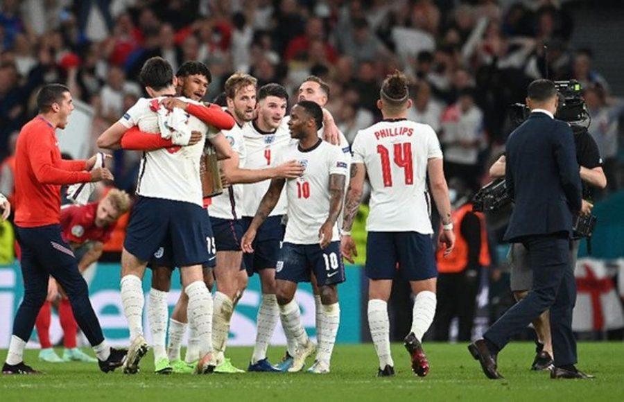 Usai Kalahkan Denmark 2-1, Inggris Melaju ke Final Piala Eropa 2020