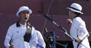 Republik Korea Menangkan Emas Panahan Tim Campuran Pertama di Olimpiade
