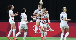 Tokyo 2020: Ellen White Cetak Gol Tunggal, Britania Raya Kalahkan Jepang 1-0