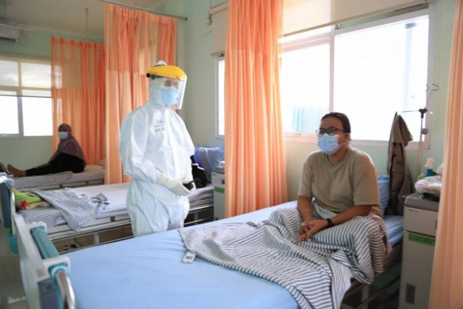 Tingkat Keterisian Pasien RS dan RIT di Kota Tangerang Menurun