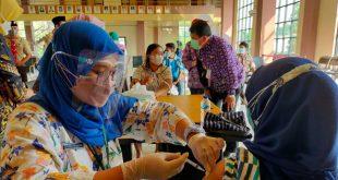 Pemkab Tangerang Gelar Vaksinasi untuk 1.557 Siswa SMPN 1 Pasar Kemis