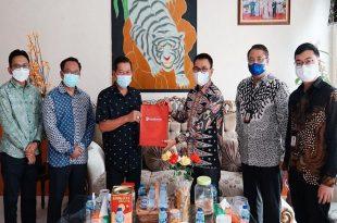 Bank Banten Bahas Rencana Kerja Sama Dengan Pemkot Serang