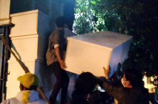 Penggiat Sosial Serahkan Bantuan 25 Peti Jenazah ke UPT TPU Selapajang Neglasari