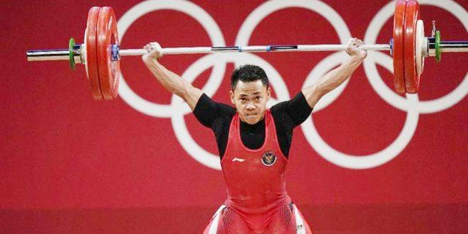 Eko Yuli Raih Medali Perak Angkat Besi Olimpiade Tokyo 2020