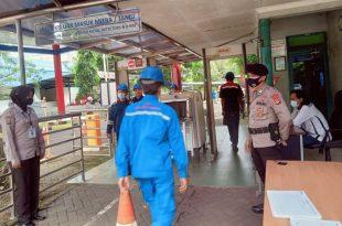 Personel Ditpamobvit Polda Banten Lakukan Patroli di PT Indonesia Power Suralaya